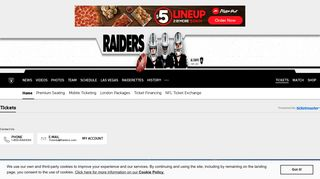 Tickets | Raiders.com