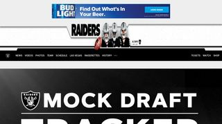 Raiders.com | The Official Site of the Oakland Raiders