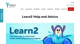 Learn2 Help and Advice - Oldham Community Leisure