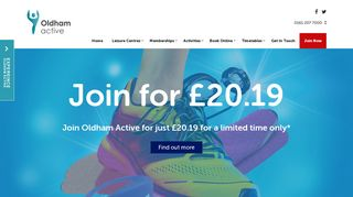 Oldham Community Leisure: Gym, Swim, Classes and more