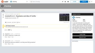 OctoSniff 2.0.3 - PlayStation and XBox IP Sniffer : hacking - Reddit