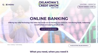 Online Banking | Oklahoma's Credit Union Online Banking Services ...