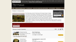 Cotswolds Luxury Hotels Breaks, book online - Luxury Hotel Breaks