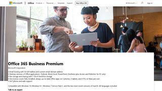 Buy Office 365 Business Premium - Microsoft Store
