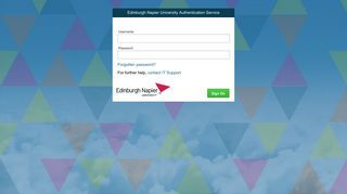 Edinburgh Napier University Authentication ... - Outlook (Office 365)