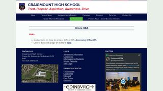 Office 365 – - Craigmount High School
