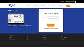 Office Ally - EHR Login