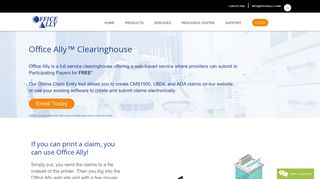 Office Ally - Clearinghouse