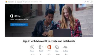 Microsoft account   Sign in to your Office Account to create and ...