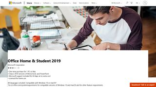 Buy Office Home & Student 2019 - Microsoft Store