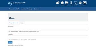 SONISWeb | Ohio Christian University