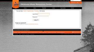 OK Grants — Oklahoma Water Resources Center