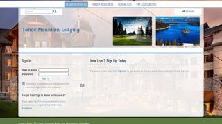 My Association's Web Site - Secure Member Sign In