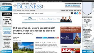 Old Greenwood, Gray's Crossing golf courses, other businesses to ...
