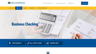 Business Checking | Old National Bank