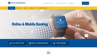 Online & Mobile Banking | Old National Bank