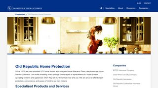 Companies   Old Republic Home Protection