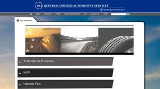 Auto Warranties - Old Republic Insured Automotive Services