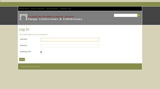 Log In · WUSTL Digital Gateway Image Collections & Exhibitions