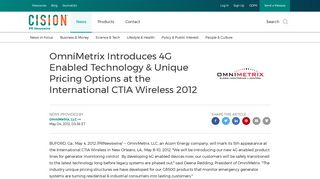 OmniMetrix Introduces 4G Enabled Technology & Unique Pricing ...