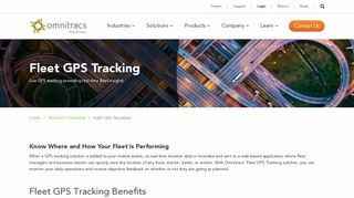 Omnitracs Roadnet Anywhere: GPS Fleet Tracking