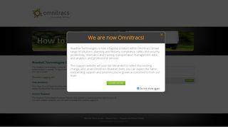 Roadnet Technologies | Login - Omnitracs