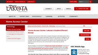 Home Access Center - Lakota Local School District