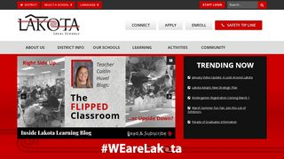 Lakota Local School District: Home