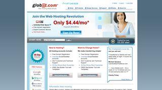 Globat - Affordable Web Hosting