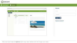 Mail - Login - One.com Web hosting