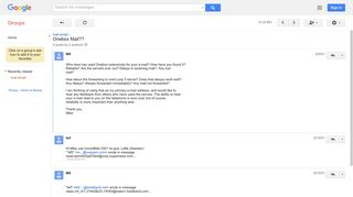 Onebox Mail?? - Google Groups