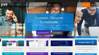 Collaboration Software & Social Collaboration Tools   Jive