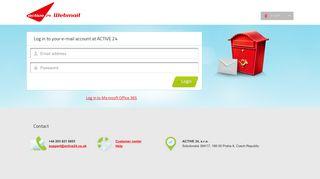 Webmail - ACTIVE 24, s.r.o.