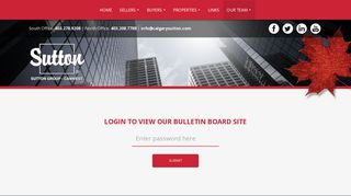 , real estate: Agent Login - Sutton Group - Canwest
