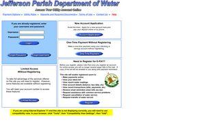 JP Water - Jefferson Parish Dept of Water