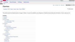 Openbox - Debian Wiki