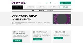 Openwork Wrap Investments | Openwork Financial Advice Network