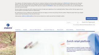 Zurich for Openwork: Home