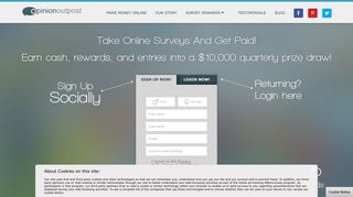 Opinion Outpost: Surveys for Money   Paid Surveys Online