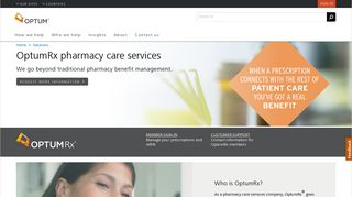Pharmacy Care Services - Optum