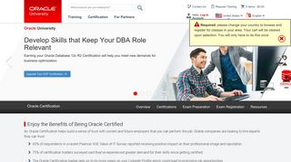 Certification Home Page | Oracle University