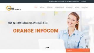 Orange Infocom Pvt Ltd – High Speed Broadband Network