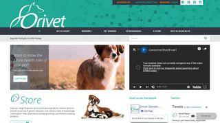 Orivet: Dog DNA Testing & Cat DNA Testing