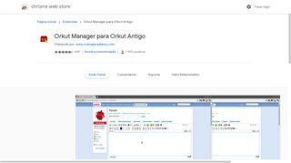 Orkut Manager para Orkut Antigo - Google Chrome