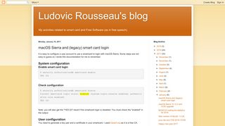 Ludovic Rousseau's blog: macOS Sierra and (legacy) smart card login