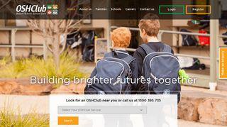 OSHClub - Australia's Highest Quality National OSHC Provider