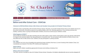 Before and After School Care - OSHClub - St Charles Catholic Primary ...