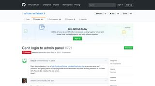 Can't login to admin panel · Issue #721 · osTicket/osTicket-1.7 · GitHub
