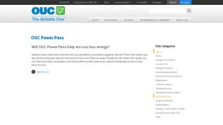 Will OUC Power Pass help me use less energy?