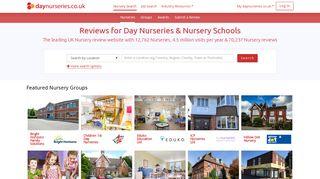 Nurseries UK - Day Nursery Reviews & Nursery School Reviews for ...